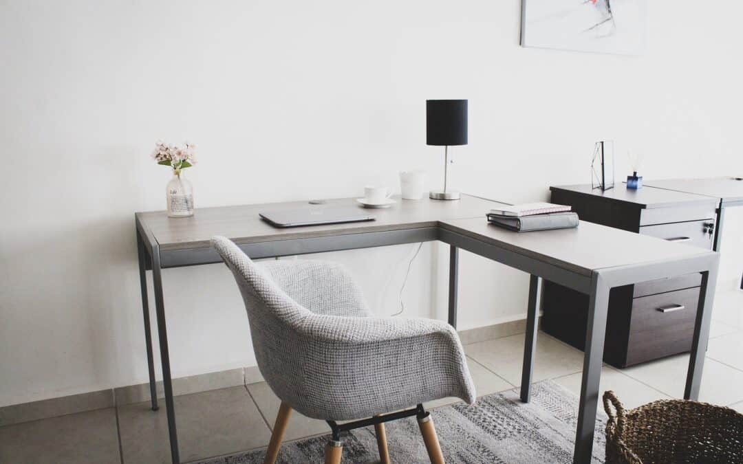 10 Easy Steps To An Organized Home Office