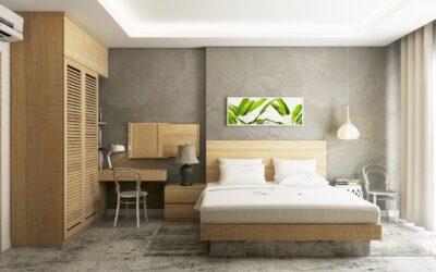 An ideal bedroom. Part1.