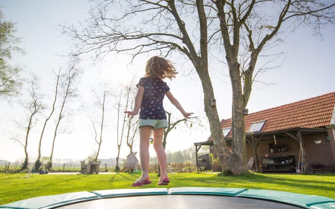 Backyard Trampoline